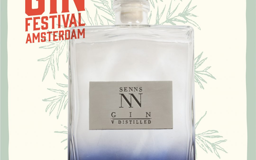 Gin Senns en el Gin Festival de Ámsterdam 2017